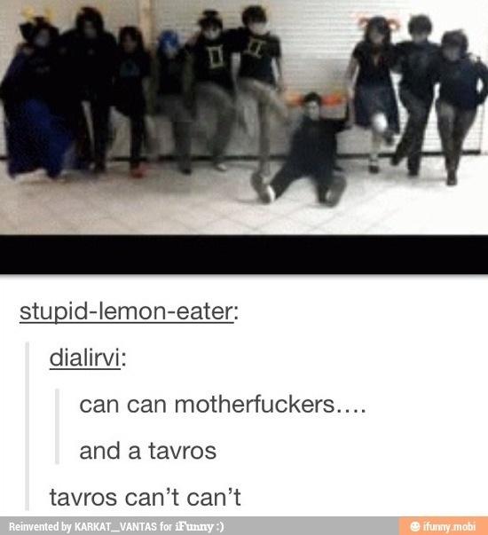 Handicap jokes aren't okay- but when it's. Tavros... XD