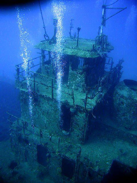 Haliburton wreck www.flowcheck.es Taller de equipos de buceo #buceo #scuba #dive