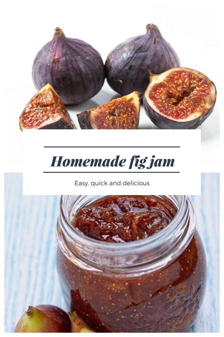 Homemade Fig Jam Recipe like Italians use to make