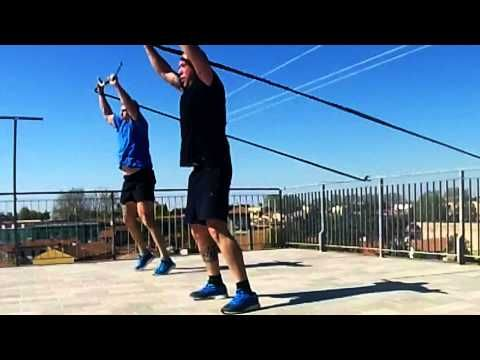 TRAINING WITH RIP TRAINER ON THE SKYLINE