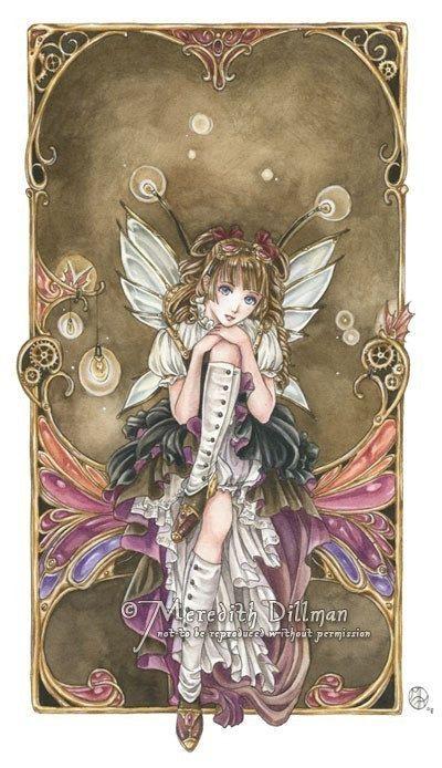 fairy anime girl