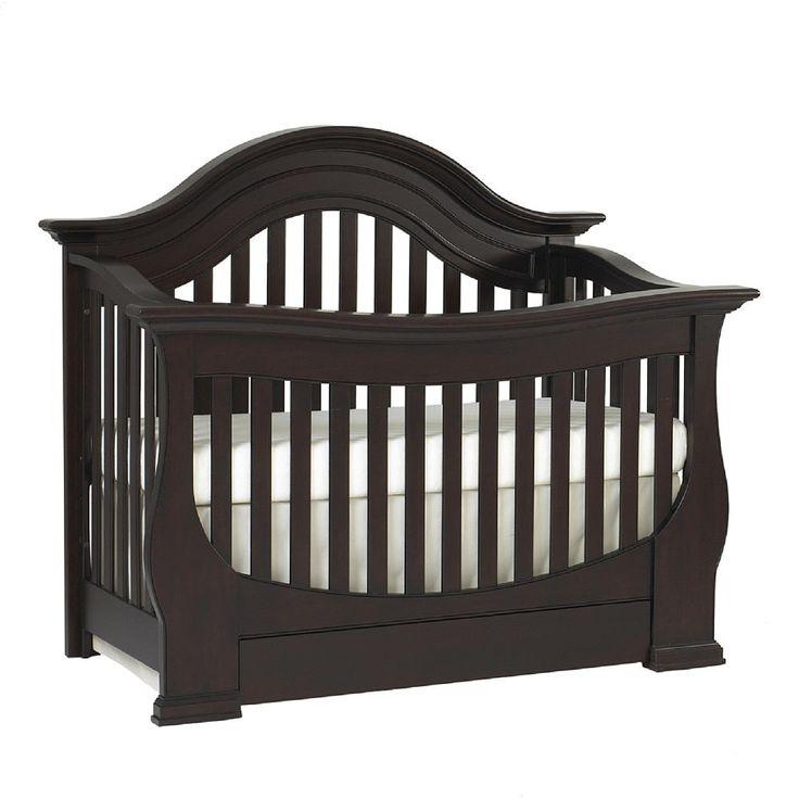 "Baby Cache Monaco Lifetime Convertible Crib - Espresso - Baby Cache - Babies ""R"" Us- $599.99"