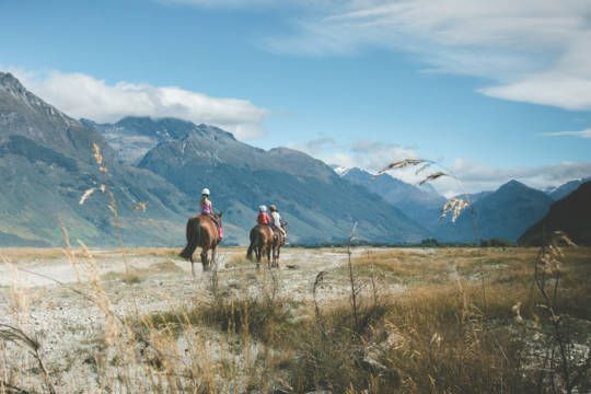 The ride of the rings- horse ride and 4wd half day trip. Located near queenstown.