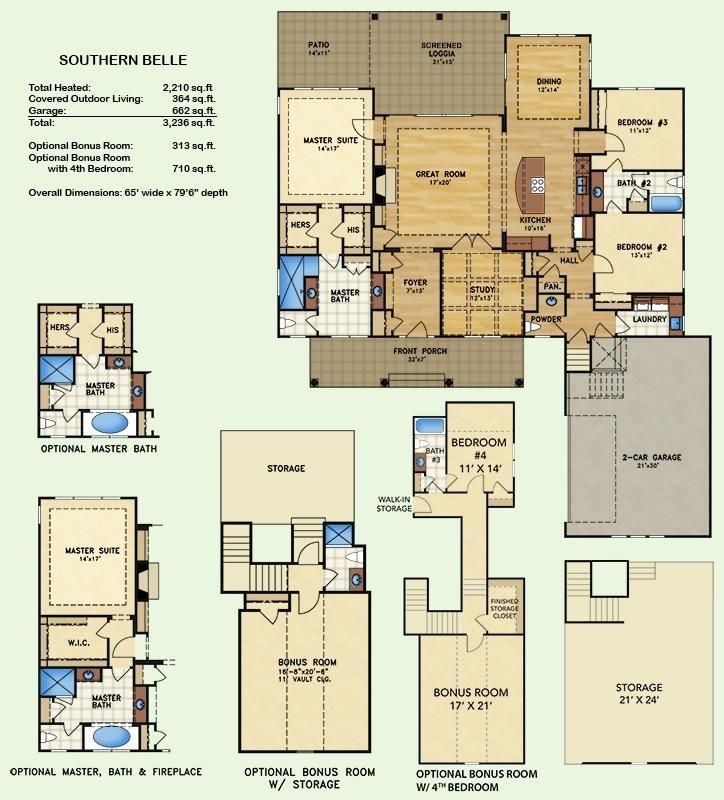 20362 best planos images on pinterest house floor plans house southern belle floor plans kent homes malvernweather Images