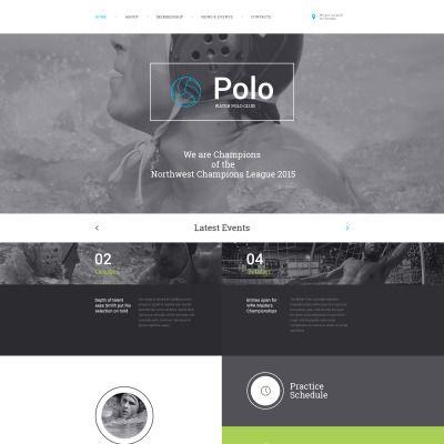 Polo Responsive Website Theme