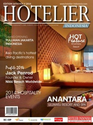 Hotelier Indonesia Edition - 16 digital magazine - Read the digital edition by Magzter on your iPad, iPhone, Android, Tablet Devices, Windows 8, PC, Mac and the Web.