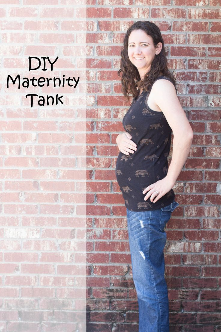 DIY Maternity Tank // DIYMaternity.com