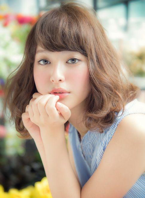 ☆大人カワイイミディアムボブ☆ 【NORA HAIR SALON】 http://beautynavi.woman.excite.co.jp/salon/22115?pint ≪ #mediumhair #mediumstyle #mediumhairstyle #hairstyle・ミディアム・ヘアスタイル・髪形・髪型≫