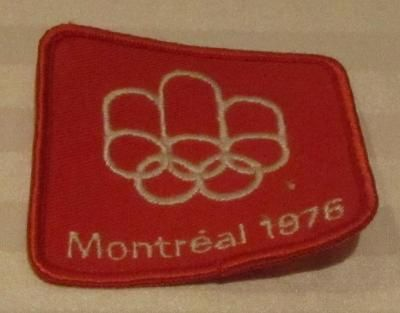Badge, Montréal 1976. Nova Scotia Sport Hall of Fame collection, Halifax