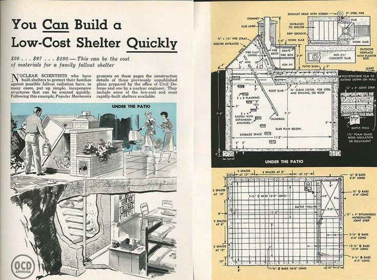 Best 25 bomb shelter ideas on pinterest underground for A frame shelter plans