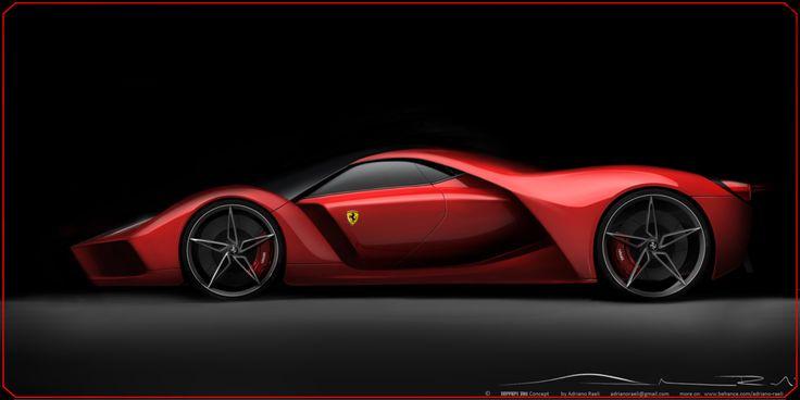 Adriano Raeli Ferrari F80 Concept Car 14 (see more on http://www.tranchesdunet.com/ferrari-f80-concept-car/ )