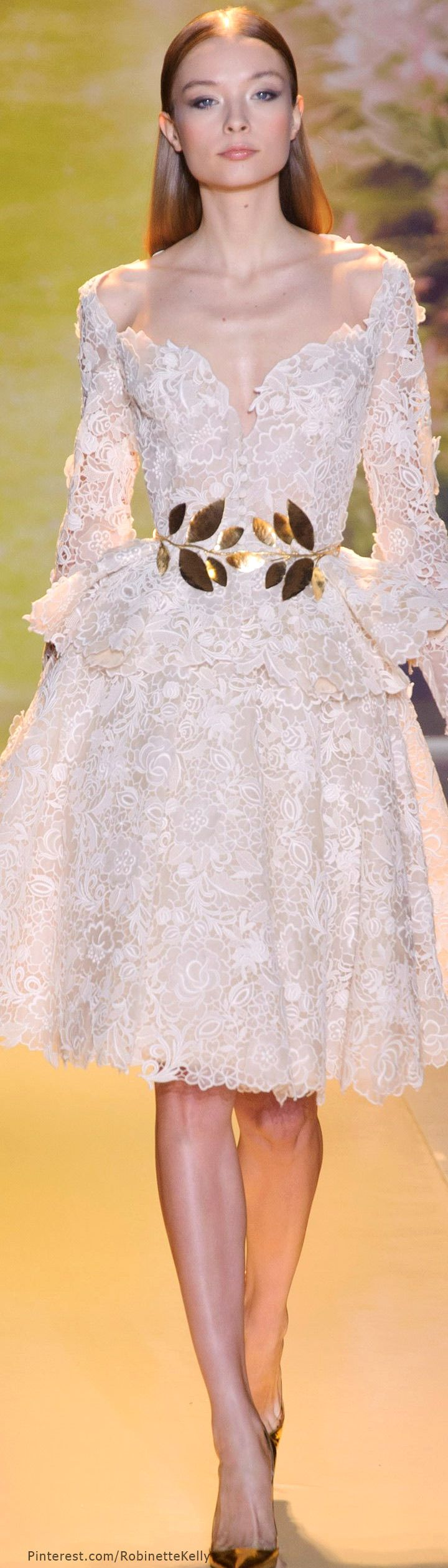 Zuhair murad haute couture s s 2014 latest luxurious for Women s haute couture clothing