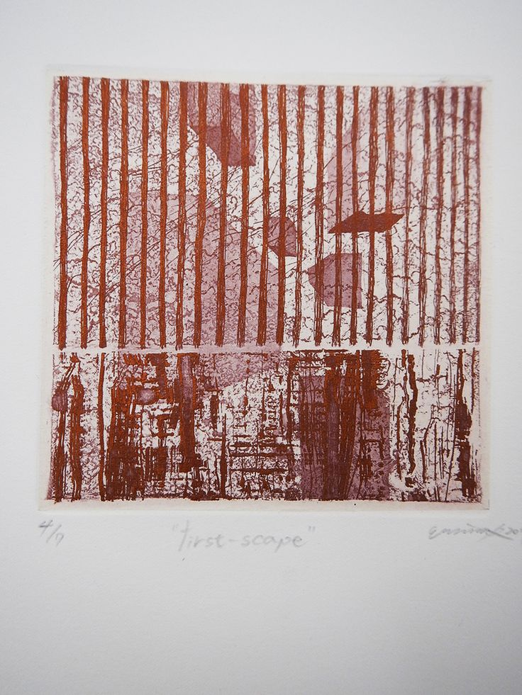 first-scape / Etching 2013