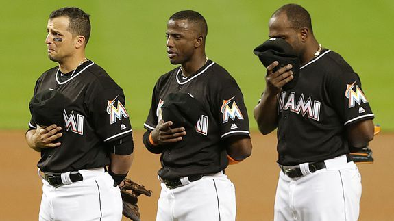5 beautiful tributes to José Fernández from  Monday night's game
