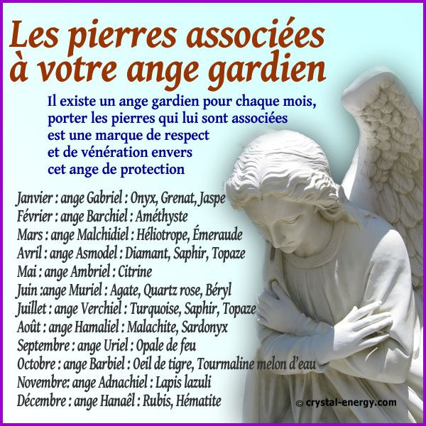 Chaque archange peut nous apporter sa protection, il faut appeller un archange pour bénéficier de son aide et du soutien des pierres qui lui sont associées
