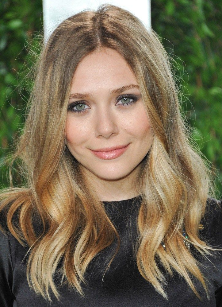 here's to hoping my hair grows this much by winter... color idea!
