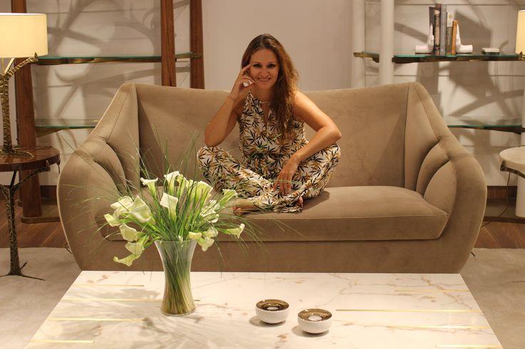 Joana at September edition of Maison&Objet 2016 @maisonobjet #maisonetobjet #mo16 #parisdesign #newcollection #trends16 #highlights #newpieces #uniquefurniture #furnituredesign #lightingdesign #home #homedecor #interiors #insidherland #jsb #joanasantosbarbosa