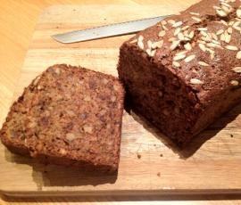 Recipe Sticky Banana, Walnut and Date Loaf by Megan Douglas - Recipe of category Baking - sweet
