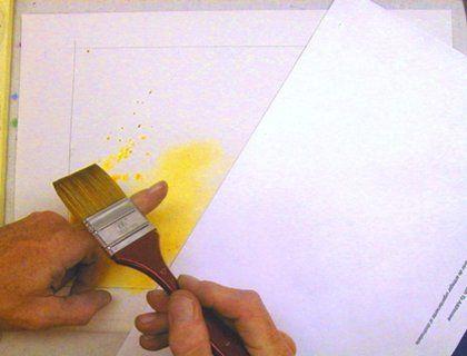 6 необычных техник рисования акварелью