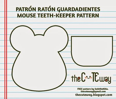 RANDOM LITTLE ME: Ratoncito guardadientes - Mouse teethkeeper