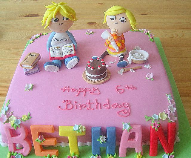 Cake Designs By Deborah : 17 Best images about Charlie and Lola party ideas on ...