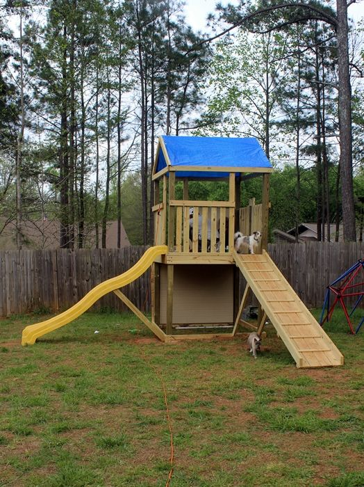 DIY Swing Set, Part 1: the tower