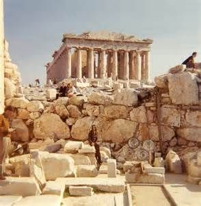 Sitting among the hallowed ruins of the Acropolis as a young girl