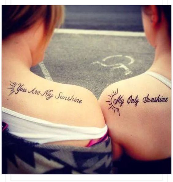 Awesome Mother Daughter Tattoo Designs: 17 Best Images About Tattoo Ideas On Pinterest