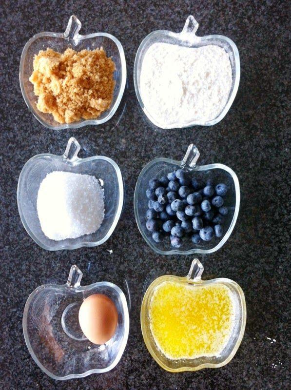 Witte chocoladekoekjes met blauwe bessen *@nnemieke*