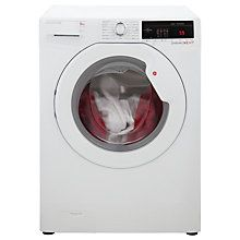 Buy Hoover DXOA49LW3 Freestanding Washing Machine, 9kg Load, A+++ Energy Rating, 1400rpm Spin, White Online at johnlewis.com