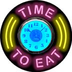 Neon Food Clocks | Food And Drink Neon Clocks | JantecNeon.com