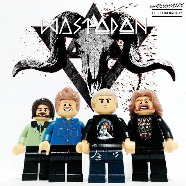 Mastodon lego