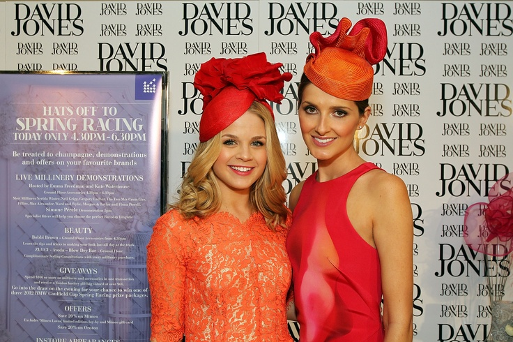 Emma Freedman and Kate Waterhouse host Millinery Event in our Bourke Street Store, October 2012