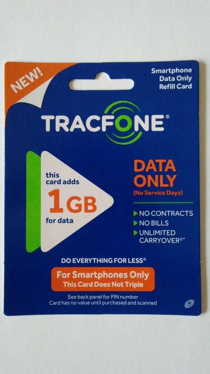 Details about tracfone 1 gb 1024 mb of data smartphone