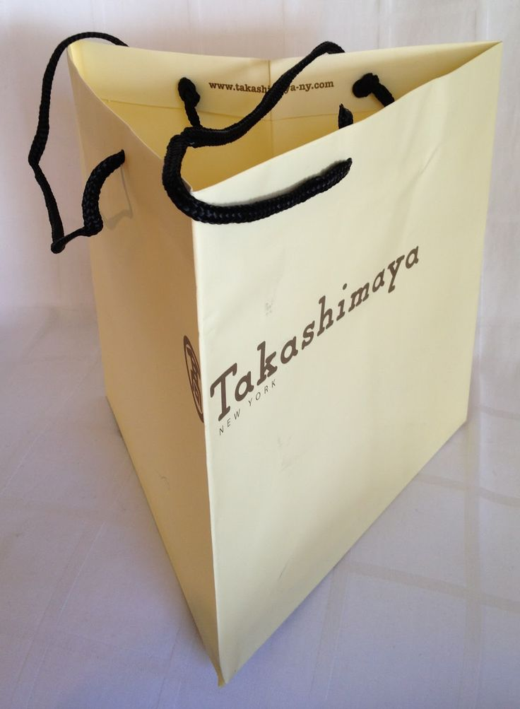 Perhaps because of or in spite of the sheer number of stores in New York, only a select few of the city's shopping bags act not just a...