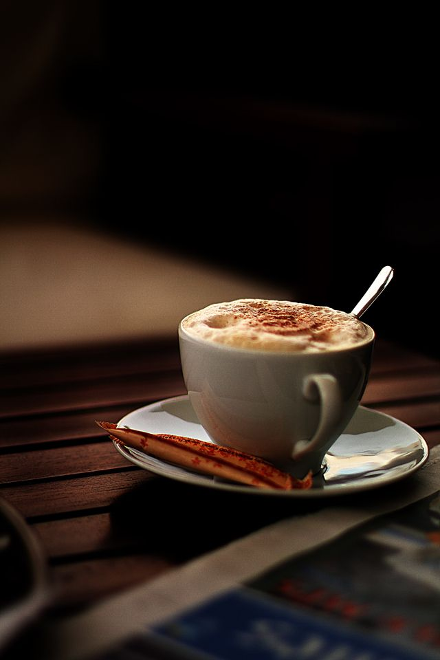 Cappuccino *cafe culture*