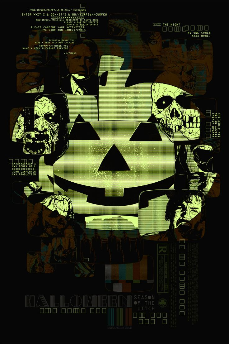 Halloween III: Season of the Witch Poster (Glow in the Dark) - Matt Ryan Tobin