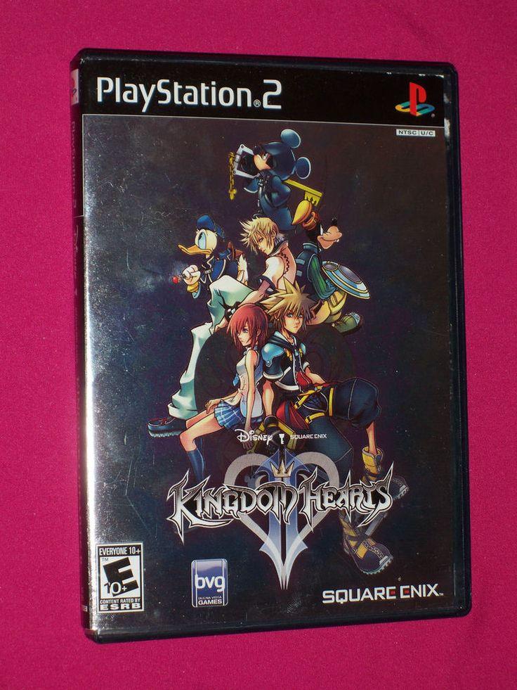 Kingdom Hearts II - PS2 Square Enix Disney Game PlayStation 2 COMPLETE, 2006 | eBay