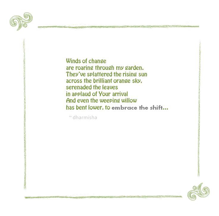 Poetry on breath, love and meditation. Inspired by Sri Sri Ravi Shankar through the practice of Sudarshan Kriya