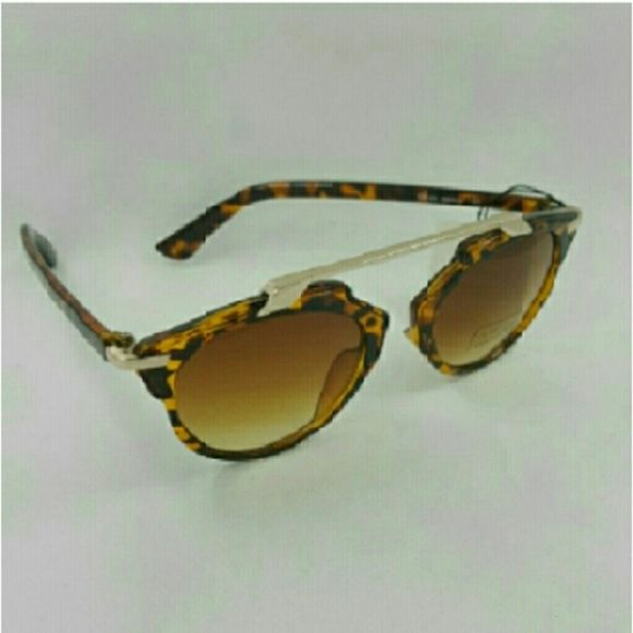 High quality Round vintage women sunglasses High quality Round vintage women sunglasses Tortoise frame brown lens  (C8144) Accessories Sunglasses