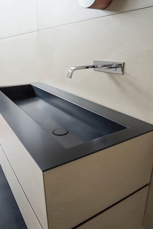 Mobile lavabo sospeso con cassetti dresscode by moab 80 for Ardeatina arredamenti di lupi gabriella