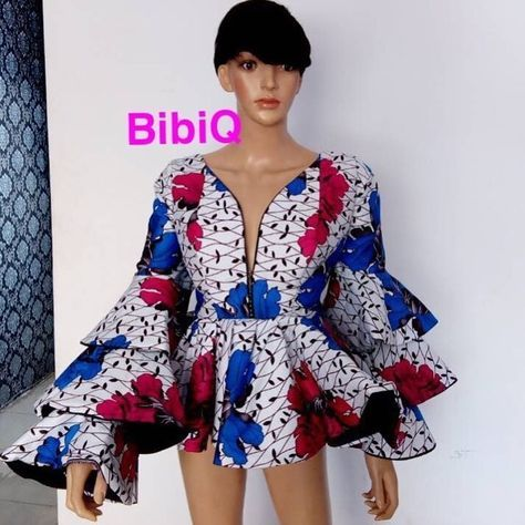 There's something very stylish and elegant about Ankara peplum tops, these beautiful designs will add that extra flare needed to take your style to a complete new level.The Ankara peplum style was at its peak in the 1940's, however, the style has seen a revival over the past few years....