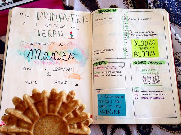 """""""Mi piace"""": 60, commenti: 7 - Elena Picciotto (@ele_bmoon) su Instagram: """"Pizzelle curiose 😋 (Ma quanto poco è durato marzo!? ) 🌸 • • • • • • • #bujocommunity…"""""""