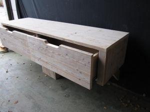 Bad kamer meubel met twee lades naast elkaar huvee emmeloord