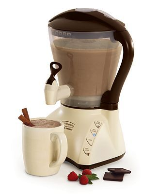 Hot Cocoa Maker, YES, please!