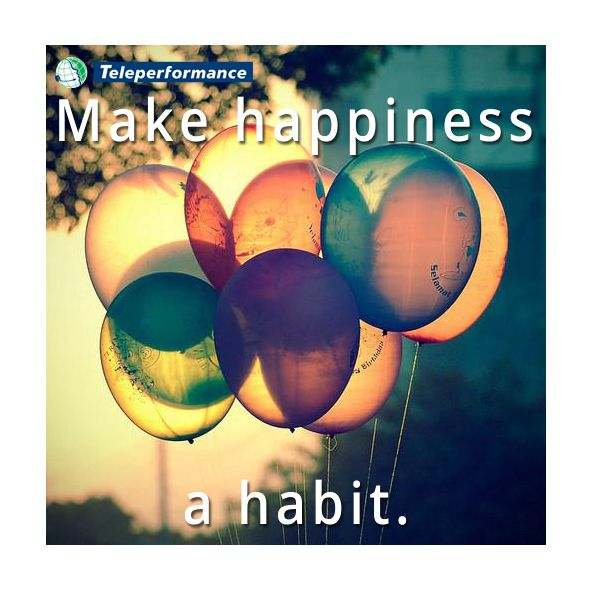 Let it shine in our habits...
