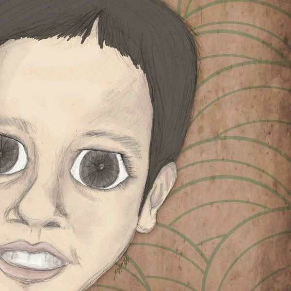 Kamael, my angel on earth -digital artwork 2014