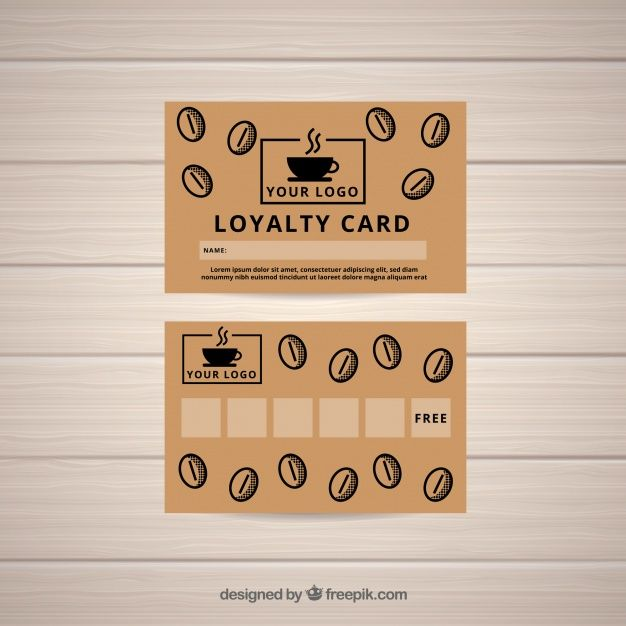 Download Coffee Shop Loyalty Card Template For Free Loyalty Card Template Loyalty Card Coffee Loyalty Card Design