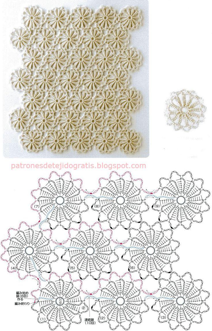 4555 best Crochet images on Pinterest | Patrones de ganchillo ...