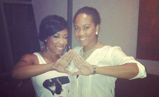 What celebrities are in the Alpha Kappa Alpha sorority